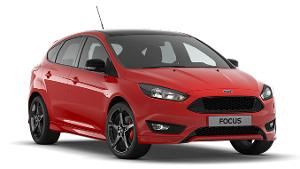 Ford Focus ST-Line Red